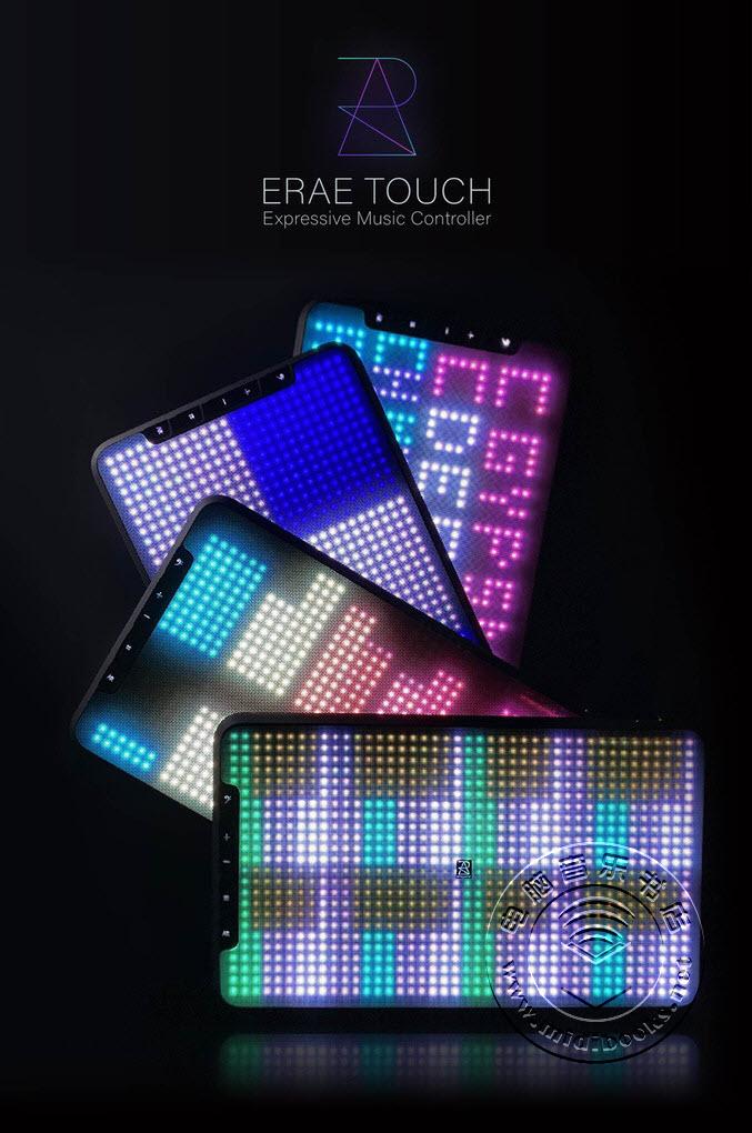 Erae Touch,一款富有表现力的MIDI 2.0网格键盘控制器