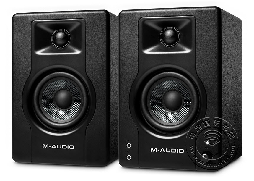 M-Audio发布BX3和BX4多媒体监听音箱