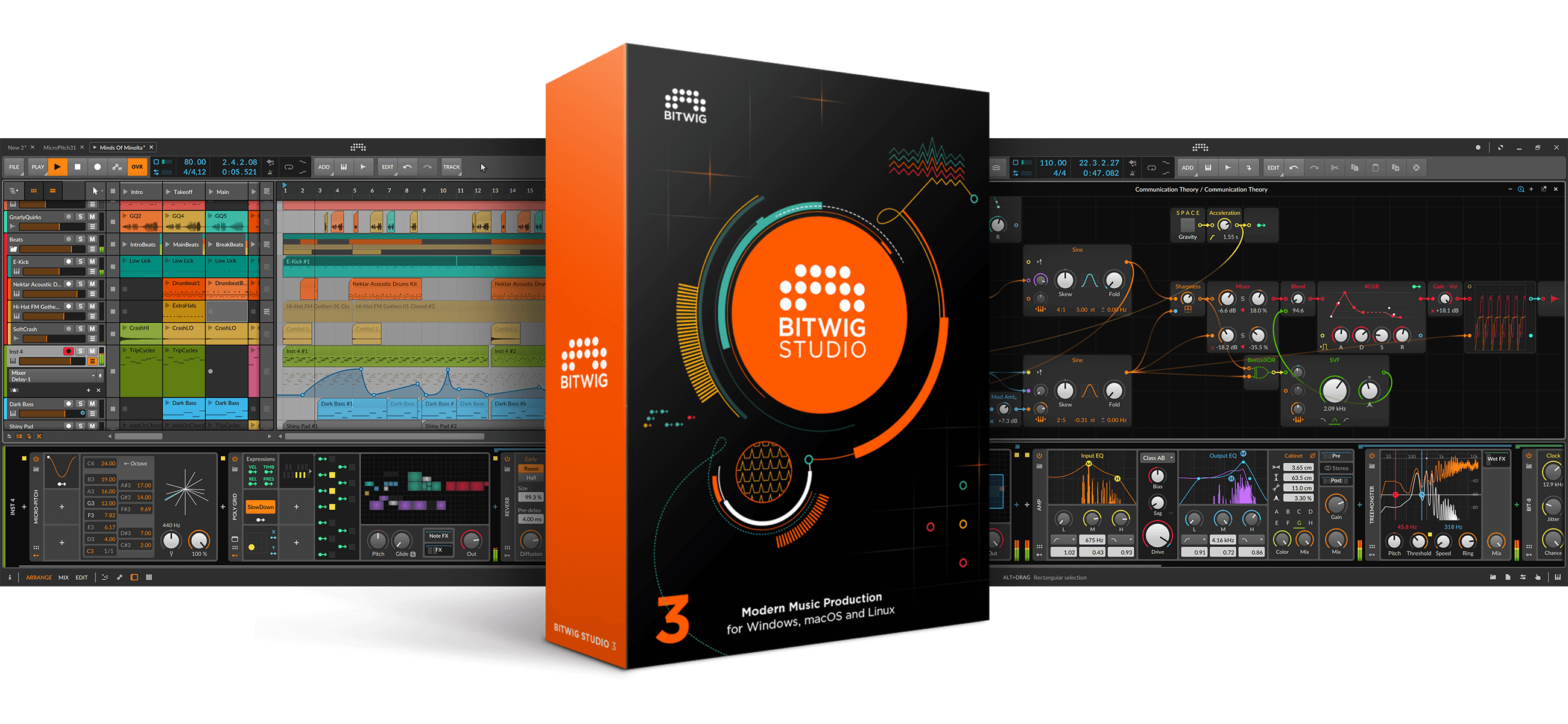数字音乐制作工作站软件Bitwig Studio 3.3版发布(视频)