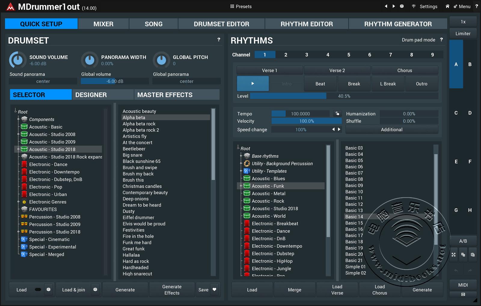 MeldaProduction 发布高达60GB的免费打击乐音色扩展包 Drum Empire 2020(视频)