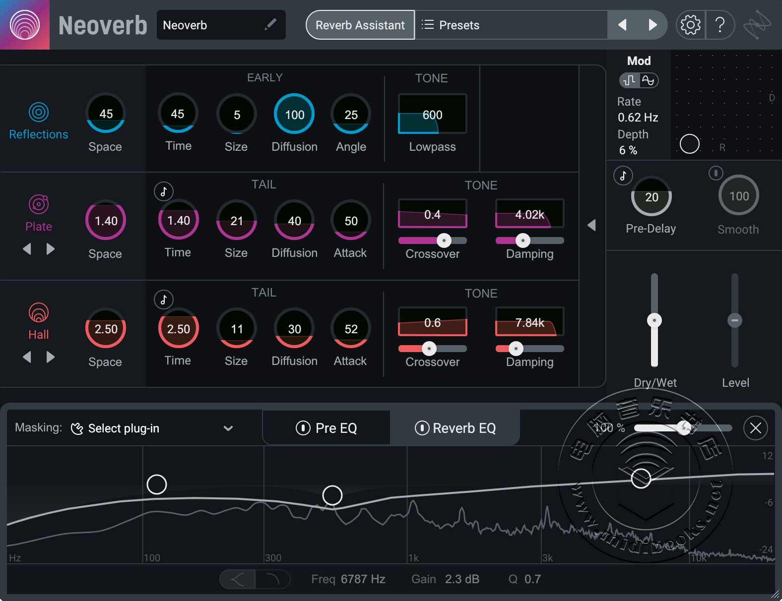 iZotope 推出最新智能混响 Neoverb(视频)