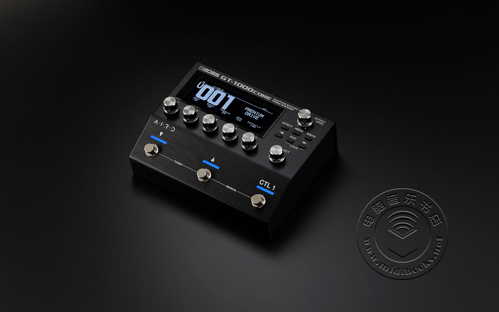 BOSS 发布 GT-1000CORE 吉他效果器(视频)