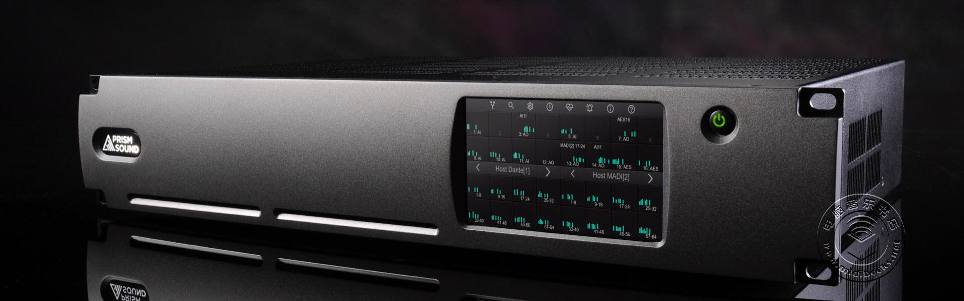 Prism Sound发布128通道高采样率的音频转换器ADA-128