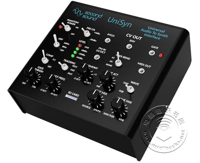 UniSyn,可以控制任何单声道音源的合成器