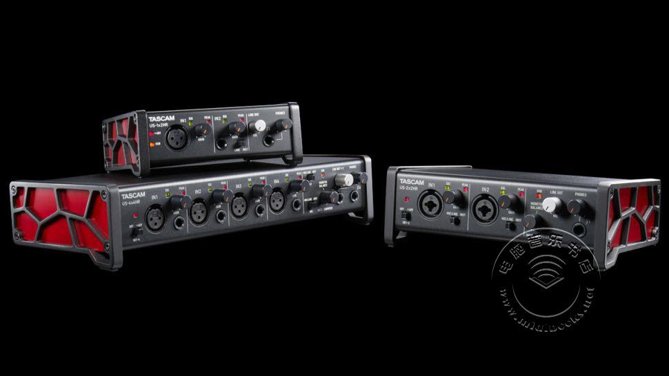Tascam推出蜘蛛侠配色风格的USB音频接口US-HR