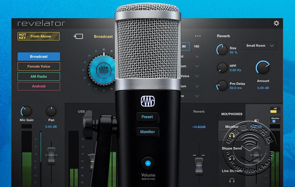 PreSonus发布Revelator USB麦克风,带有多指向和USB-C接口(视频)