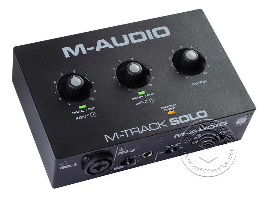 M-Audio发布M-Track Solo和M-Track Duo紧凑型专业音频接口(视频)
