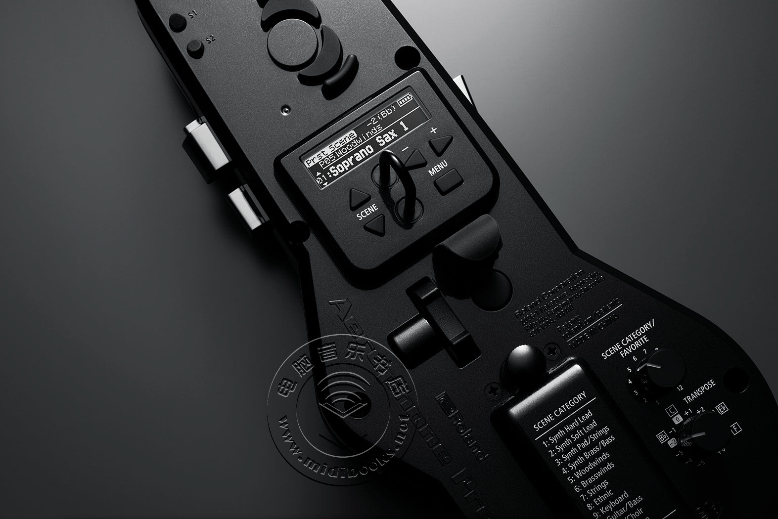 Roland发布Aerophone Pro电吹管(视频)