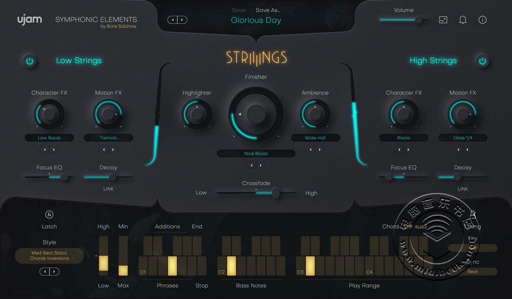 UJAM发布Symphonic Elements STRIIIINGS现代弦乐合奏插件(视频)
