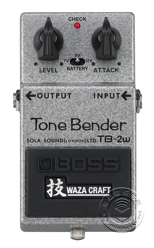 BOSS发布Tone Bender踏板效果器