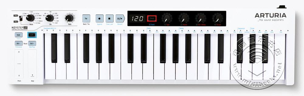 Arturia KeyStep 37 MIDI键盘评测