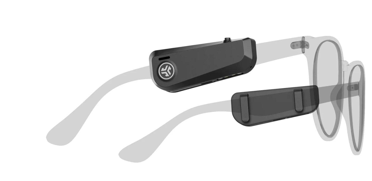 JLab推出JBuds Frames,一款可以夹在眼镜上的开放式耳机