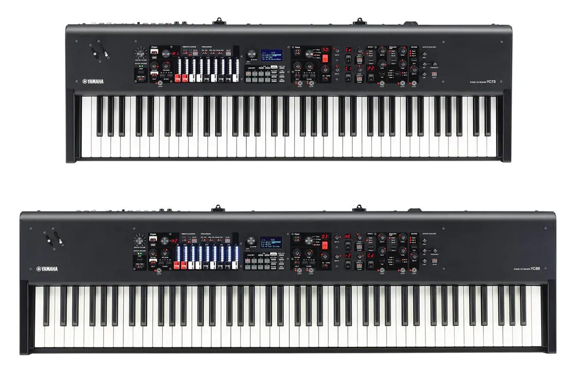 YAMAHA(雅马哈)发布YC73和YC88舞台电钢琴