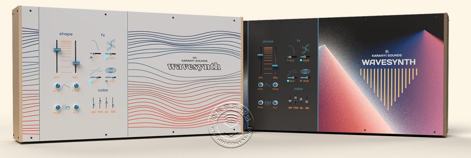 Wavesynth,可用于Kontakt 6的声波塑形器