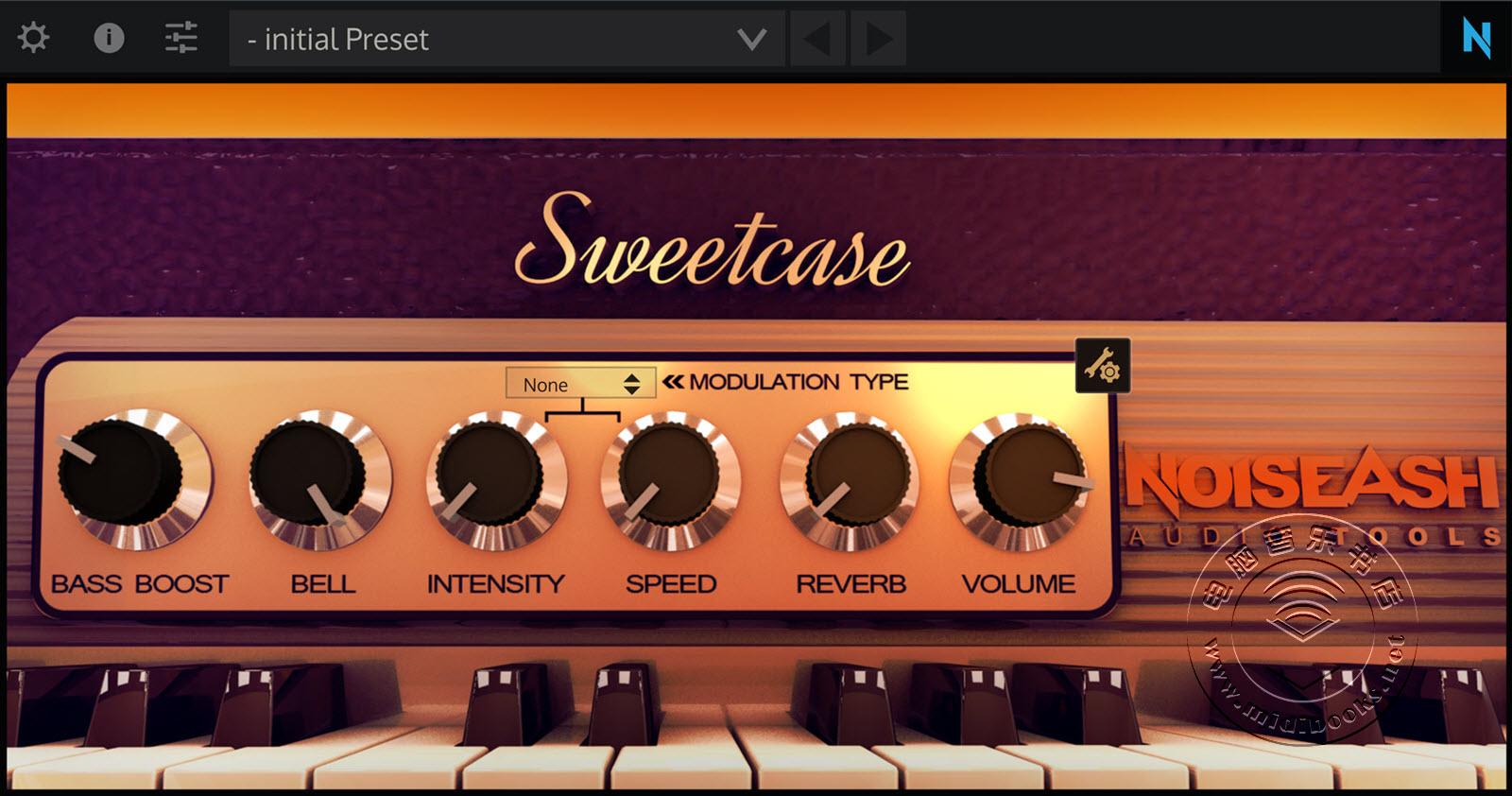 【新年福利】最好用的电钢琴插件Sweetcase EP 1.3.2版免费下载