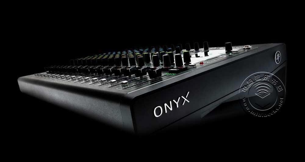 Mackie推出新型ONYX系列模拟调音台,带有24位/96kHz多轨USB录音接口