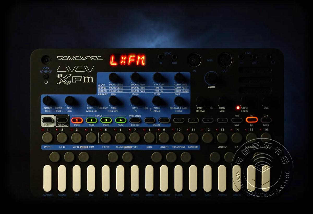 Sonicware推出仅售199美元的迷你合成器Liven XFM(视频)