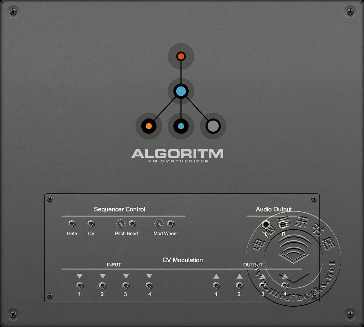 Reason Studios发布具有时尚外观的Algoritm FM合成器(视频)
