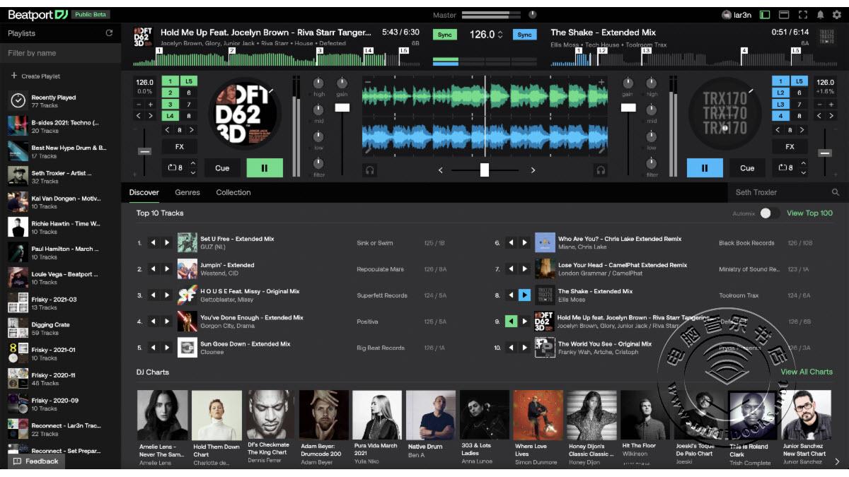 Beatport DJ可让您在Web浏览器中DJ起来