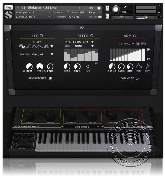 Soundiron发布Elektronik 25,来自前苏联时代的经典合成器音源(视频)
