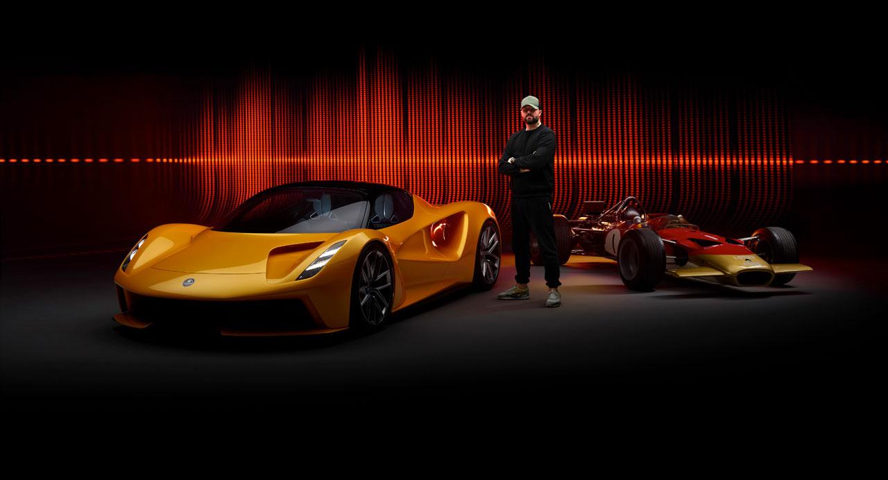 莲花与英国音乐制作人Patrick Patrikios合作为Evija超级跑车配乐