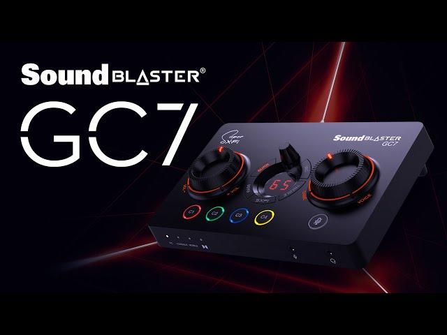 创新推出Sound Blaster GC7:附带Super X-Fi功放的USB DAC(视频)