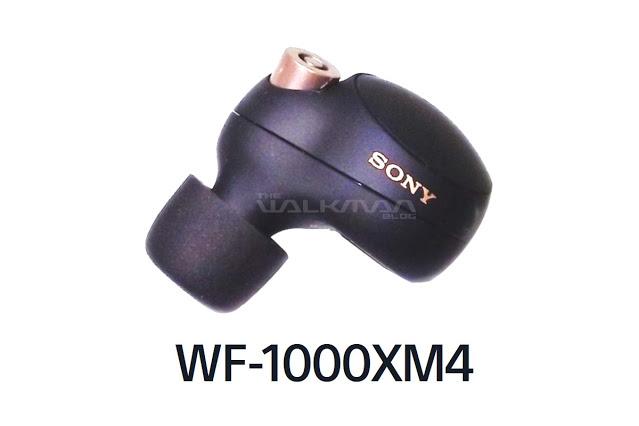 SONY(索尼)WF-1000XM4耳机谍照全面曝光,或于6月上旬到来