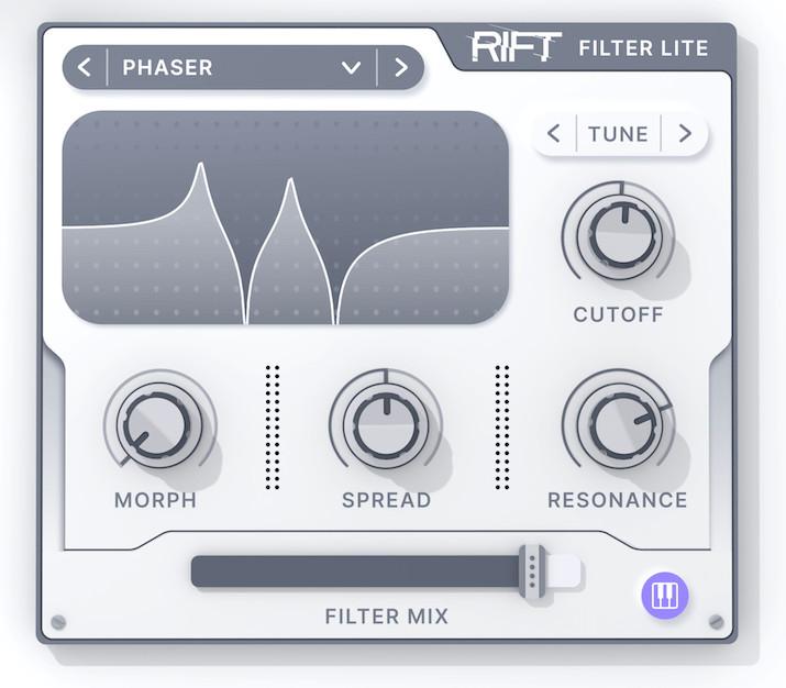 Minimal Audio的变形滤波器插件Rift Filter Lite免费下载(视频)
