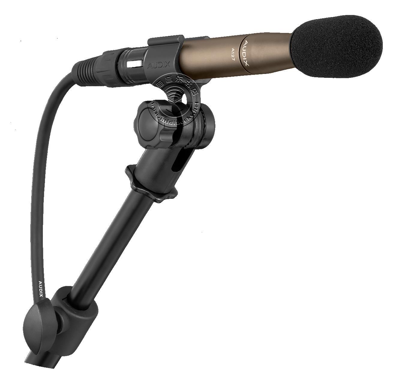 Audix 推出用于严苛专业录音环境的全指向金属振膜电容话筒 A127(视频)