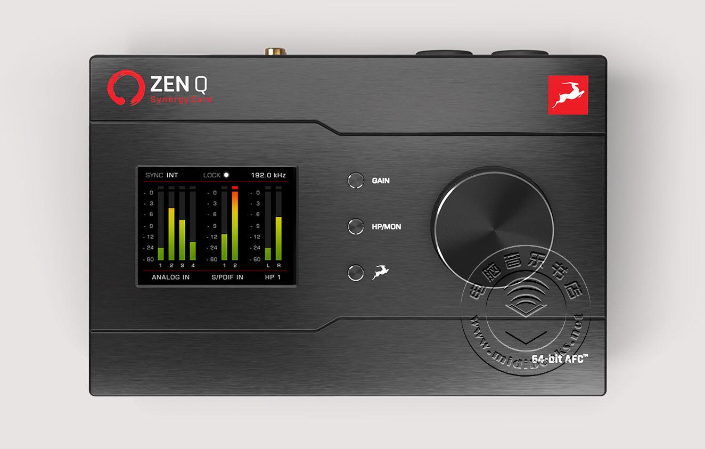 Antelope Audio(羚羊音频)发布带有板载音效的Zen Q Synergy Core便携式音频接口