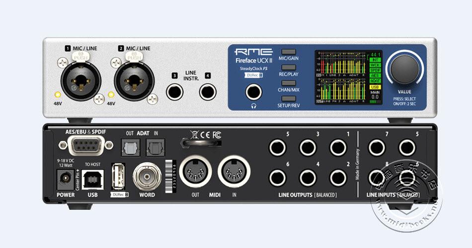 RME发布紧凑型音频接口Fireface UCX II