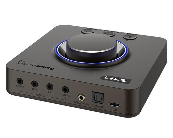 创新发布Sound Blaster X4外置声卡