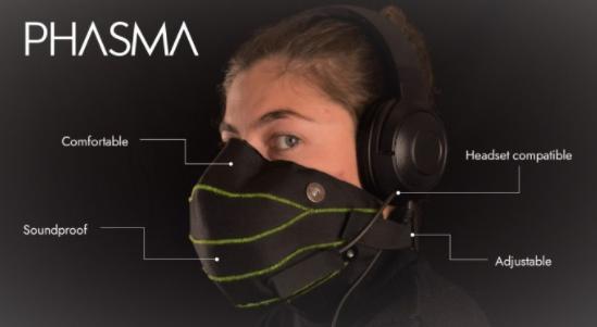 不怕扰民可尽情喊叫,西班牙厂推创意游戏隔音面罩