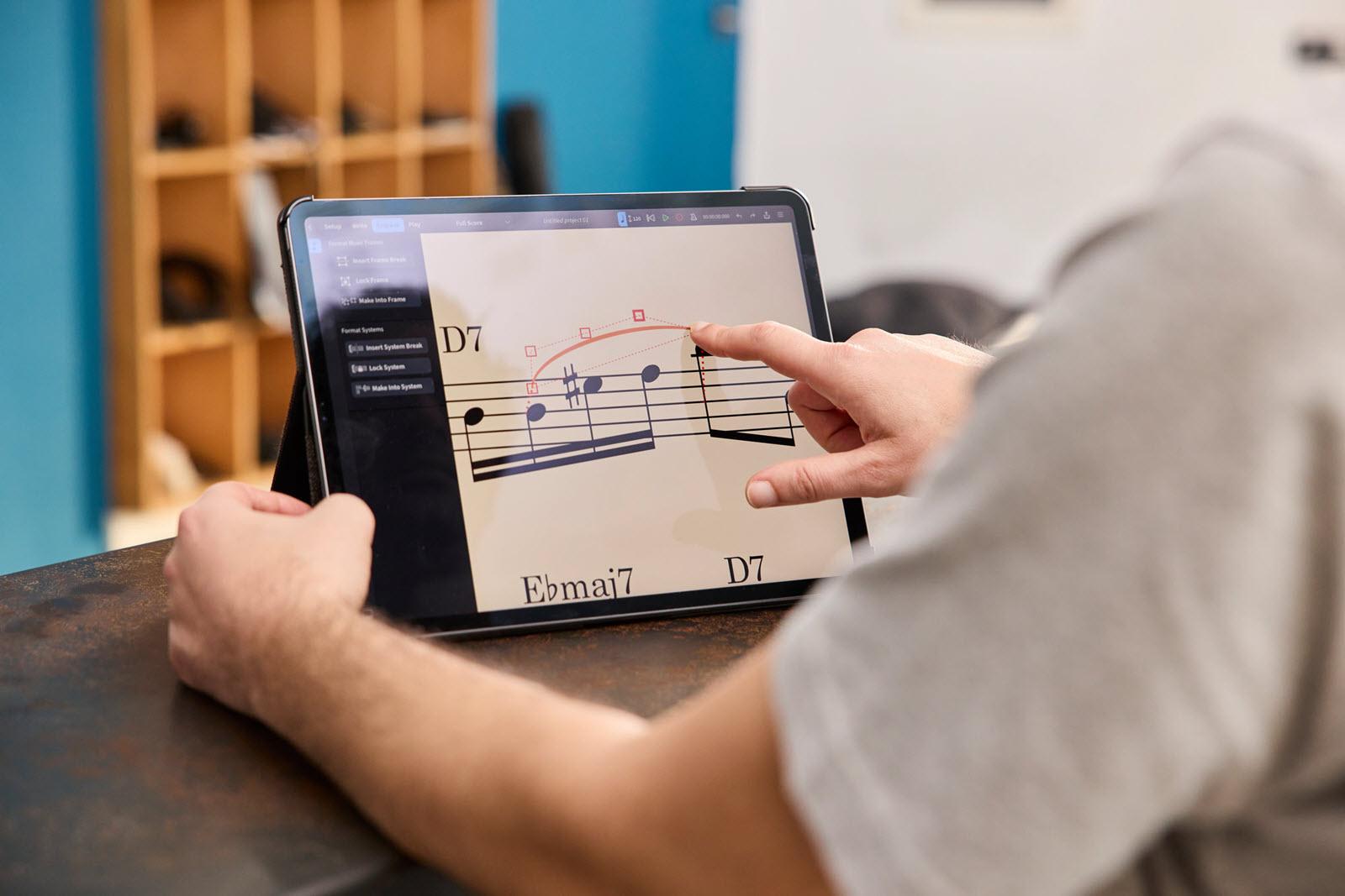 Steinberg(斯坦伯格)推出免费iPad版音乐打谱软件Dorico(视频)