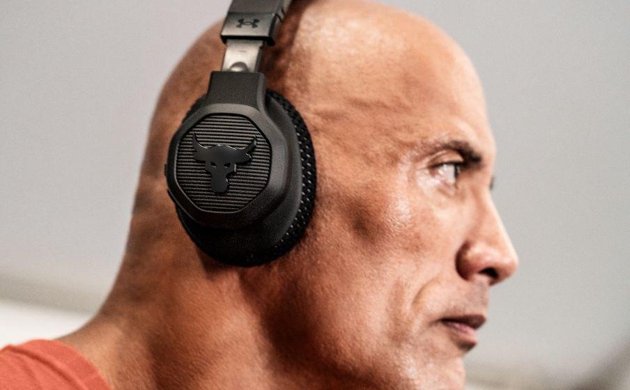 携手巨石强森:JBL推出UA Project Rock头戴式无线耳机