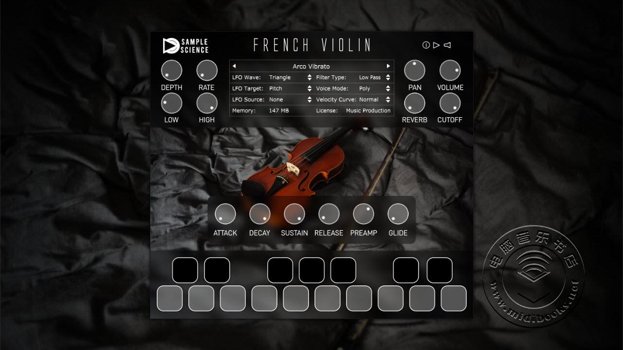 【福利】免费的法国小提琴采样虚拟乐器下载(视频)