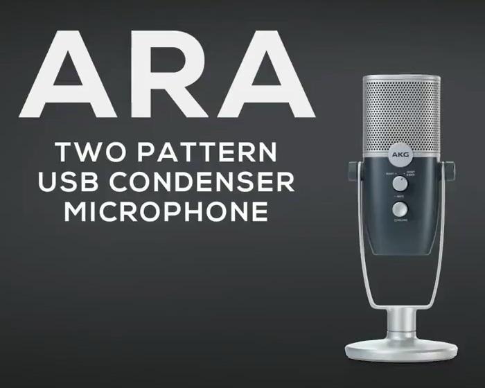 AKG推出Ara高品质USB麦克风