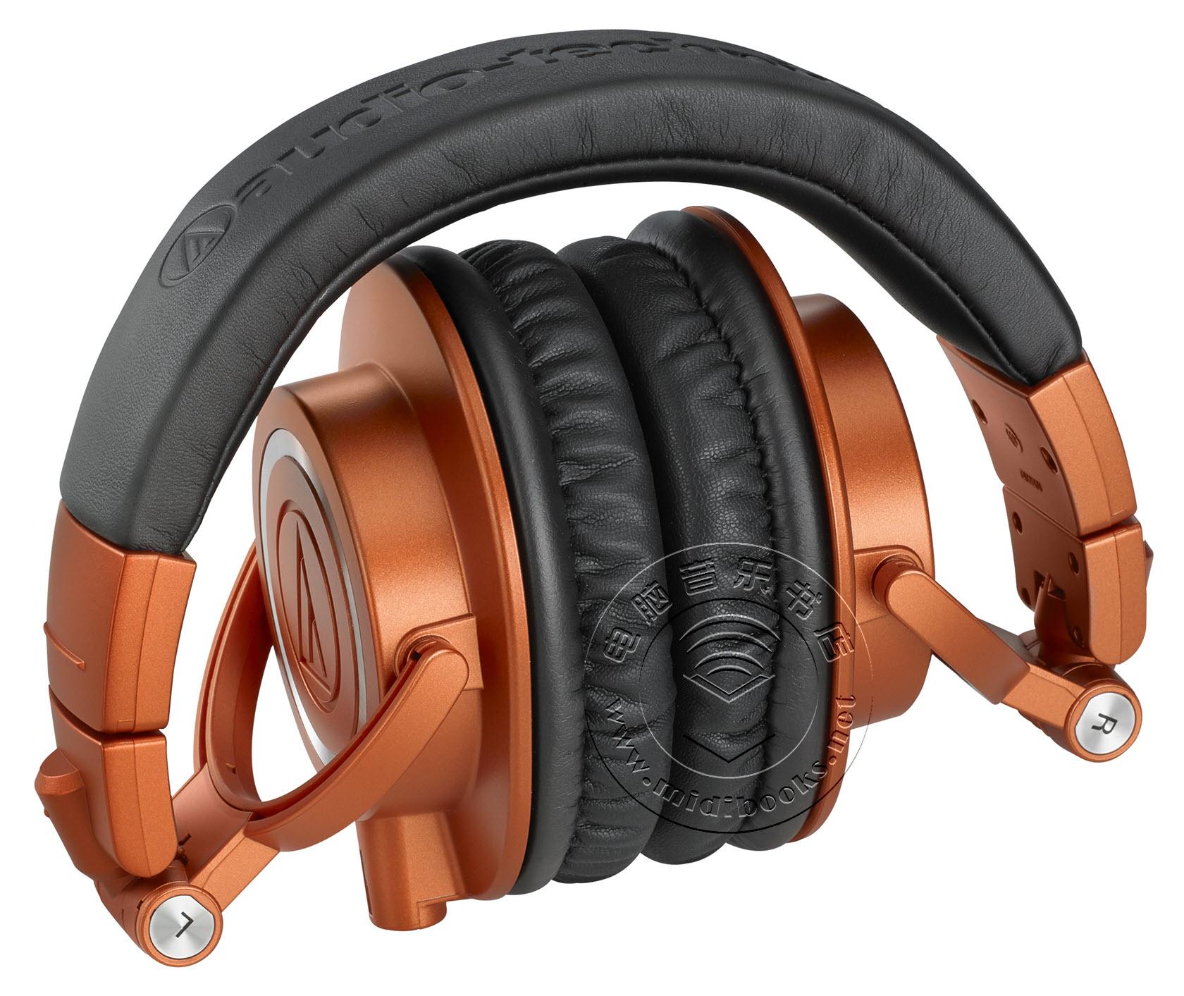 Audio-Technica(铁三角)发布橙色限量版ATH-M50x监听耳机