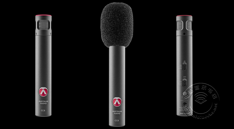 Austrian Audio(奥地利音频)发布CC8小振膜乐器电容话筒(视频)